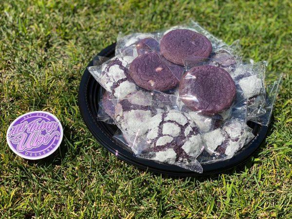 Ube Cookie Platter